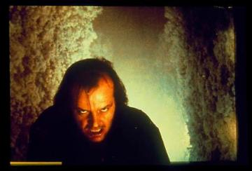 Jack Nicholson as Jack Torrance in 'The Shining.'